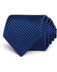 BOSS - Geometric Micro Neat Classic Tie - Lyst