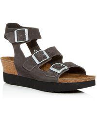 72a1618a6e49 Birkenstock - Women s Linnea Papillio Platform Wedge Sandals - Lyst