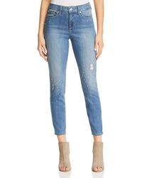 NYDJ - Ami Embellished Ankle Jeans In Marrakesh - Lyst
