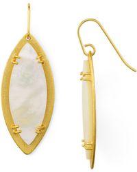 Stephanie Kantis - Leaf Earrings - Lyst