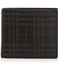 9c0919c4fa4 Lyst - Gucci Perforated Leather Wallet On Chain in Black for Men