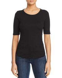 Three Dots - Heritage Keyhole Knit Top - Lyst