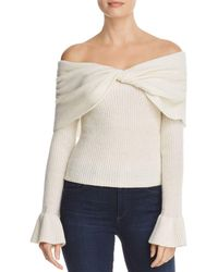 Ella Moss - Jasina Off-the-shoulder Sweater - Lyst