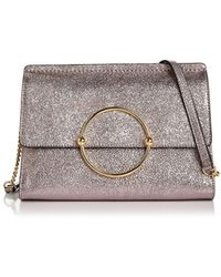 MILLY | Flap Leather Crossbody | Lyst