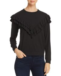Marc New York - Performance Ruffle Trim Top - Lyst