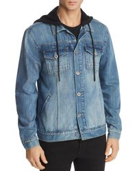 PAIGE - Scout Jacket With Hoodie - Lyst