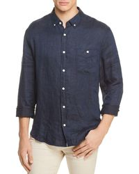 7 For All Mankind - Oxford Linen Button-down Shirt - Lyst
