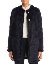 Maximilian - Reversible Mink & Rabbit Fur Coat - Lyst