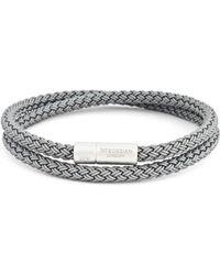 Tateossian - Rubber Cable Bracelet - Lyst