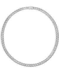 """John Hardy - Sterling Silver Dot Small Chain Necklace, 18"""" - Lyst"""