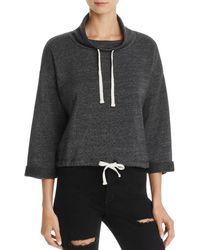 Alternative Apparel - Funnel Neck Sweatshirt - Lyst