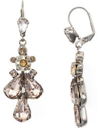Sorrelli - Satin Leverback Earrings - Lyst