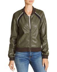 Joe's Jeans - Paola Faux-leather Bomber Jacket - Lyst