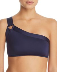 Mei L'ange - Valentina Solid Bikini Top - Lyst