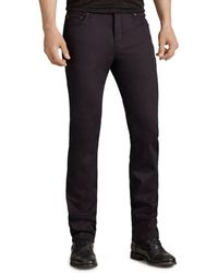 John Varvatos - Woodward Slim Fit Jeans In Black - Lyst