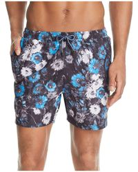 BOSS | Piranha Floral Swim Trunks | Lyst