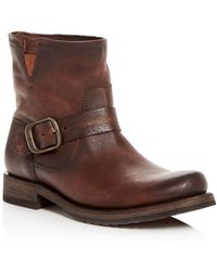Frye - Women's Veronica Moto Booties - Lyst