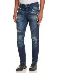 Hudson Jeans - Blinder Skinny Fit Biker Jeans In Ritner - Lyst