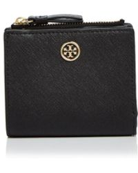 Tory Burch - Robinson Mini Leather Wallet - Lyst