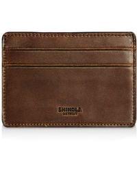 Shinola - Distressed Card Case - Lyst