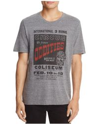 Junk Food - Oddities Crewneck Short Sleeve Tee - Lyst