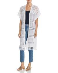 Lyssé - Sabra Crochet Long Open Cardigan - Lyst