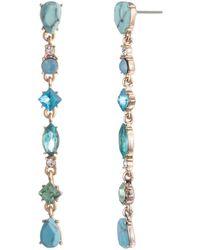Carolee - Stone Linear Earrings - Lyst