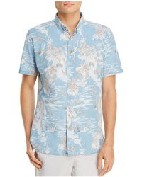 Barney Cools - Tropical Holiday Short Sleeve Button-down Shirt - Lyst