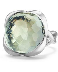 David Yurman - Continuance Ring With Prasiolite - Lyst