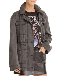 ATM - Washed Cargo Jacket - Lyst