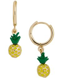 BaubleBar - Fruit Drop Huggie Earrings - Lyst