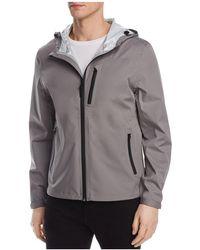 Cole Haan - Waterproof Hooded Jacket - Lyst
