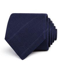 John Varvatos | Textured Stripe Classic Tie | Lyst