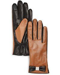 Kate Spade - Bow Tech Gloves - Lyst