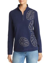 Tommy Bahama - Embroidered Half-zip Jumper - Lyst