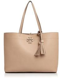Tory Burch - Mcgraw Medium Leather Tote - Lyst