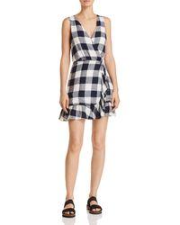 Rails - Madison Gingham Wrap Dress - Lyst