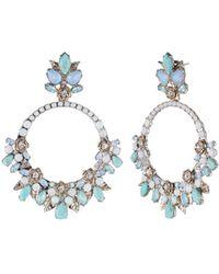 Marchesa - Orbital Chandelier Earrings - Lyst