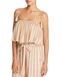Cool Change - Ella Crop Top Swim Cover-up - Lyst