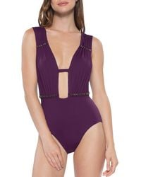 Becca - Reconnect One Piece Swimsuit - Lyst
