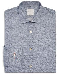 Paul Smith | Micro Floral Slim Fit Dress Shirt | Lyst