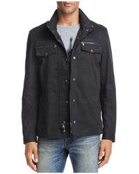 John Varvatos - Double Zip Shirt Jacket - Lyst