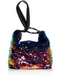 Nasty Gal - Inner Circle Sequin Mini Bag - Lyst