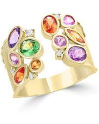 Bloomingdale's Multicolour Sapphire - Metallic