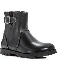 Birkenstock | Women's Stowe Leather Booties | Lyst