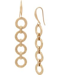 Robert Lee Morris - Linear Ring Drop Earrings - Lyst