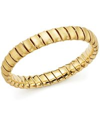 Bloomingdale's - Coiled Slip-on Bracelet In 14k Yellow Gold - Lyst