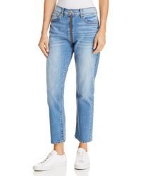 Pistola - Charlie Zip Straight-leg Jeans In So Smooth - Lyst