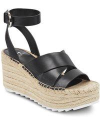 4d230c12196 Dolce Vita Women s Pim Platform Wedge Espadrille Slide Sandals in ...