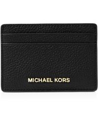MICHAEL Michael Kors - Leather Card Holder - Lyst